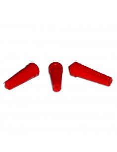 Flight protectors PVC large red