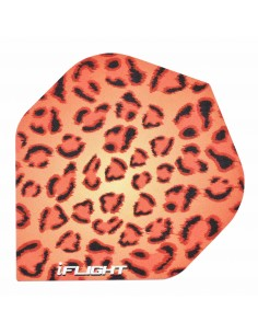 I.Flight Standard Red Leopard Print