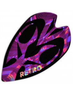 Retro Large purple