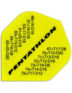Pentathlon Standard Checkout yellow