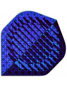 Holographic Standard blue